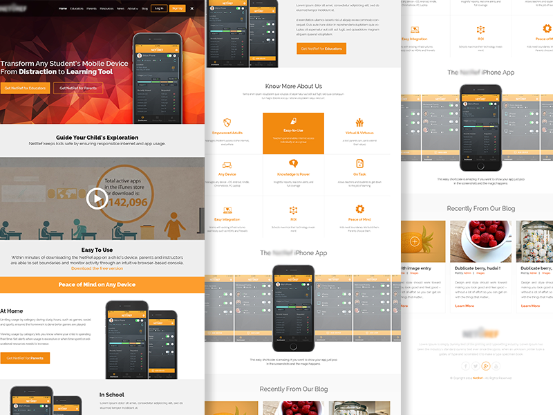 UI / UX Design Education Web / App