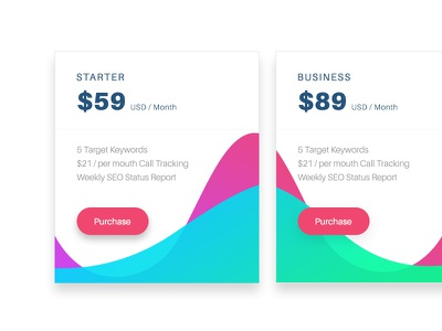 Pricing Table offers pricing table business starter dollars purchase price table