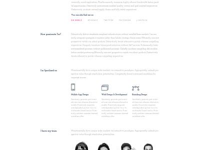 Personal Portfolio Freebie freelance freelancer resume clean case study freebie portfolio