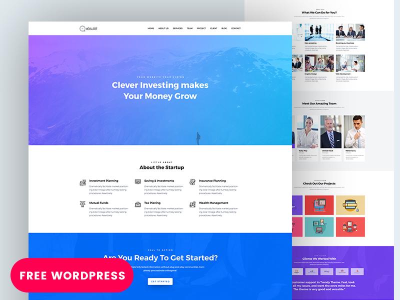 Business Zone – A Free WordPress Theme
