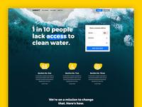 Non-profit homepage