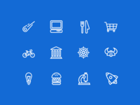 Category/Topic Icons