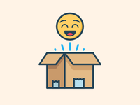 Home Delivery Satisfaction Icon