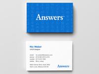 Unused Business Cards