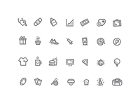 Some Work Icons