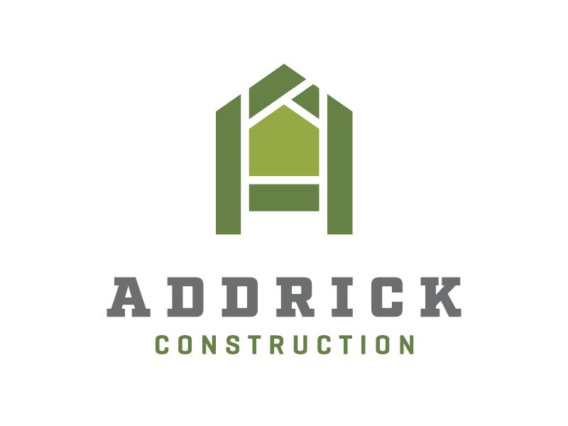 Addrick Construction Logo Opt2 roof addrick builder emerald home simple a construction