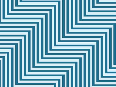 Blue On Blue Zig Zag Pattern