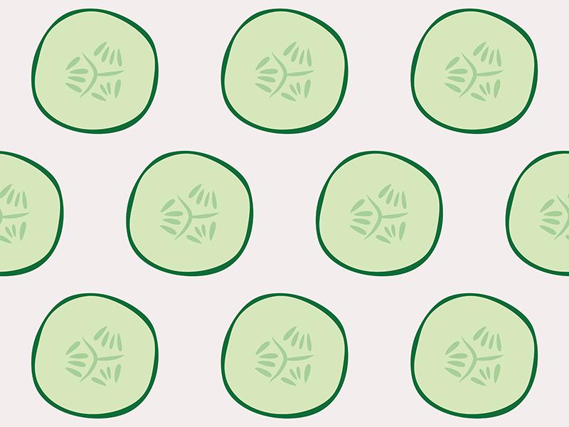 Cucumber Pattern Redbubble Light Dribble illustrator vector illustration pattern art cucumbers vegetable cucumber surface pattern pattern design pattern colour bright vector illustration flat design bold color bold