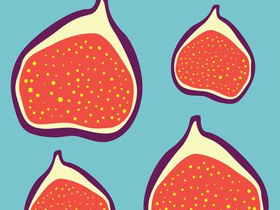 Fig Fruity Pattern Design