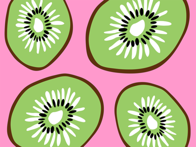 Kiwifruit Pattern Design