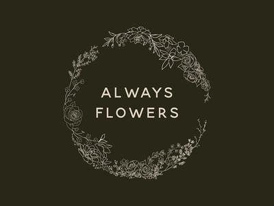 Always Flowers Logo