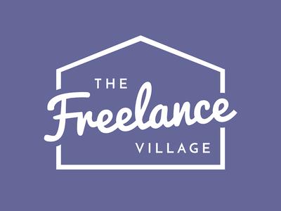 The Freelance Village Logo Design