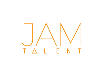 Orange Jam Talent Logo
