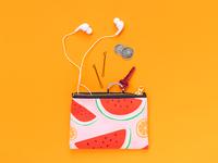 Watermelon Citrus Pouch