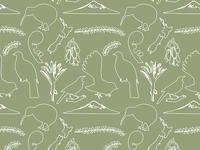Baby Pattern Design New Zealand Theme