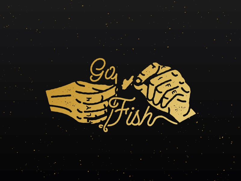 Go... sticker logo trout outdoors fly fishing fishing