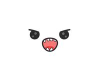 Angry kawaii face