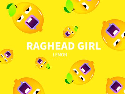 lemon lemon logo illustration