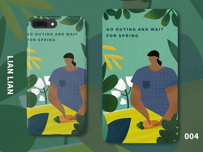 spring typography 版式 design 包装 illustration