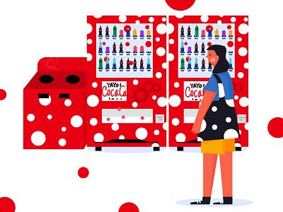 自助售卖机 vector 设计 版式 design illustration