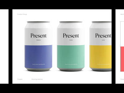 Present — System mockup ui ux sketch animation typography drink system animated website white minimalism minimalist minimal figma branding art direction exploration brand design