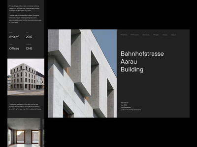 GLSA — Homepage & Projects architects architect architecture website layout layout exploration art direction eploration minimalist brutalism minimalism minimal animated animation graphic design figma sketch ui ux