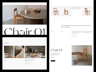 Frama — Chair 01 brutalism ui sketch minimalist minimalism minimal layout exploration layout graphic design figma exploration art direction scandinavian scandinavian style scandinavian design scandinavia inderior design interior animation animated