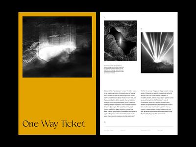 MagazineLayoutExploration® [01] brutalist magazine brutalism typography type graphic design layout exploration layout minimal minimalism figma animation sketch ux ui