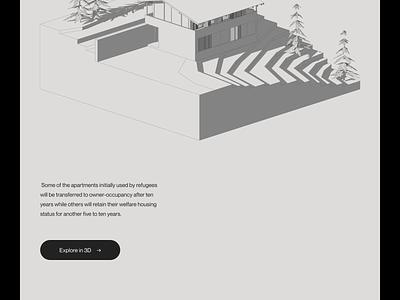 Villa Brezo — Slideshow landing page type minimalist architecture art direction layout website minimal animated minimalism typography animation sketch ux ui