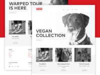Vans — Website redesign concept [2/3]