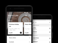 Oberoo — Homescreen & Search