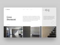Casa Dorment — Homepage