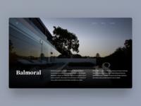 Balmoral Residence — Homepage