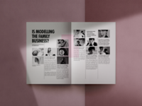 Magazine Interior Page Layout