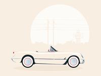1950s Corvette Roadster