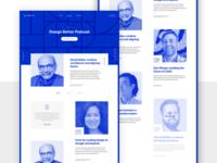 Designing the DesignBetter.Co Podcast