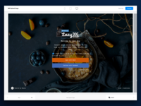 Wisely Splash Page Editor web builder layers splash platform editor restaurant ux ui