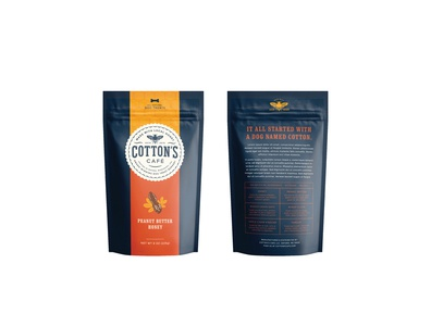 Cotton's Cafe — Bag Front and Back