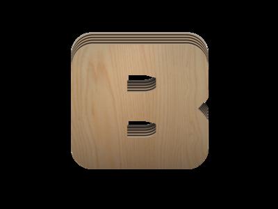 Trim Blox icon, textured