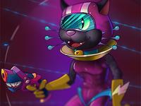 Intergalactic Kitten
