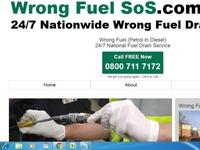 wrong fuel