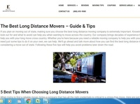best moving companies long distance