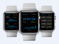 Apple Watch trading app