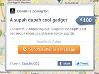 Saper.li request popup