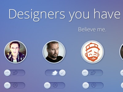 Designers you have to follow dribbble400x300px