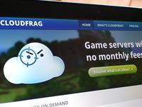 Cloudfrag logo redesign & header