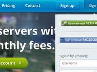 Cloudfrag homepage