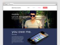 New portfolio ✔ denniscovent.com