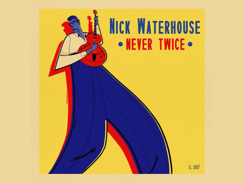 Nick Waterhouse Vinyl Cover