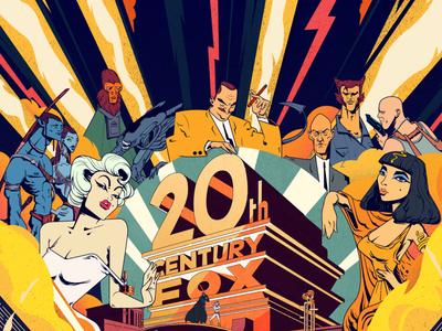 100 years for Twenty Century Fox - Cover